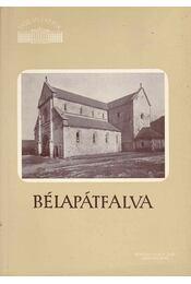 Bélapátfalva - Régikönyvek