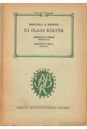 Új olsz költők - Berczeli A Károly - Régikönyvek