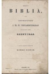 Szent Biblia (1875) - Régikönyvek