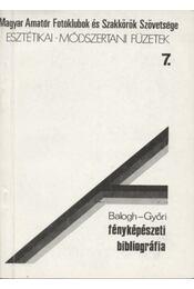 Fényképészeti bibliográfia - Régikönyvek
