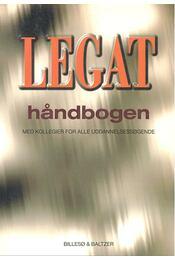 Legat håndbogen – Med kollegier for alle uddannelsessØgende - BILLESO, PER – JYLLING, BERTIL - Régikönyvek
