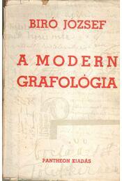 A modern grafológia - Bíró József - Régikönyvek