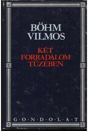 Két forradalom tüzében - Böhm Vilmos - Régikönyvek