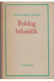 Boldog békeidők - Régikönyvek