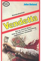 Vendetta - Boland, John - Régikönyvek