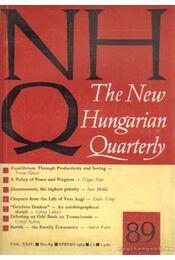 The New Hungarian Quarterly 89 - Spring 1983 - Boldizsár Iván - Régikönyvek