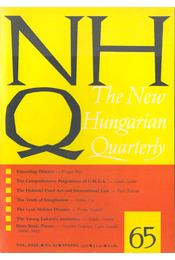 The New Hungarian Quarterly No. 65 - Boldizsár Iván - Régikönyvek