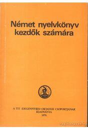 Német nyelvkönyv kezdők számára - Régikönyvek
