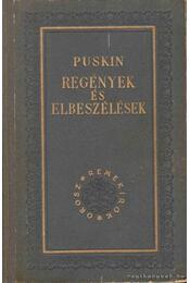 Regények és elbeszélések - Puskin - Régikönyvek
