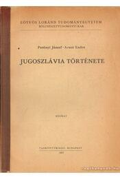 Jugoszlávia története - Régikönyvek
