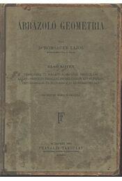 Ábrázoló geometria I-II kötet - Régikönyvek