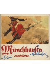 Münchhausen báró csodálatos kalandjai 1. - Régikönyvek