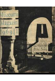 Múzsák Múzeumi Magazin 1969-1972 évfolyamok - Régikönyvek