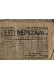 Esti Népszava 1919. (3 darab) - Régikönyvek