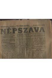 Népszava 1919 (26 darab) - Régikönyvek