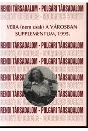 Vera (nem csak) a városban - Régikönyvek