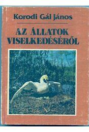 Az állatok viselkedéséről - Régikönyvek