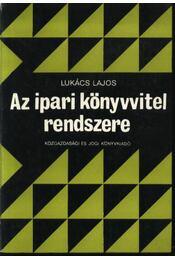 Az ipari könyvvitel rendszere - Régikönyvek