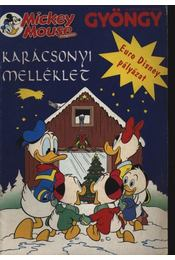 A Gyöngy karácsonyi Mickey Mouse melléklete - Régikönyvek