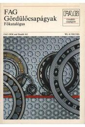 Gördülőcsapágyak (Főkatalógus) - Régikönyvek