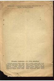 Hivatalos verébirtás a 18-19-ik században - Régikönyvek