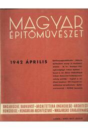 Magyar Építőművészet 1942. április - Régikönyvek