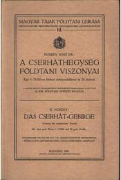 A Cserhát hegység földtani viszonyai - Régikönyvek
