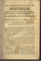 Hargitaváralja - Régikönyvek