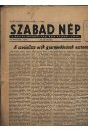 Szabad Nép 1956. január hó (teljes) - Régikönyvek