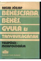 Békéscsaba, Békés, Gyula és tanyavilágának település-morfológiája - Régikönyvek
