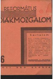 Református Diákmozgalom 1931. február - Régikönyvek