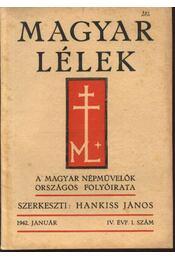 Magyar Lélek 1942. január - Régikönyvek