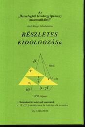 Számtani és mértani sorozatok 11. (III.) osztályosok és érettségizők számára XVIII. fejezet - Régikönyvek