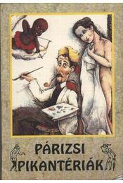 Párizsi pikantériák - Régikönyvek