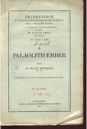 A Palaolith-ember - Régikönyvek