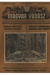 Magyar Vadász ( 1949. október 20.) - Régikönyvek