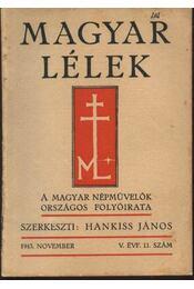 Magyar Lélek 1943. november - Régikönyvek