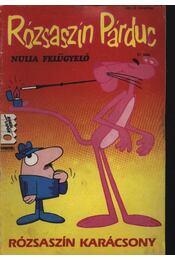 Rózsaszín párduc 37. Nulla felügyelő (Rózsaszín karácsony) 1991/8. - Régikönyvek