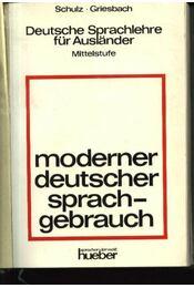 Moderner deutscher sprachgebrauch - Régikönyvek