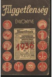 Függetlenség évkönye 1936 - Régikönyvek