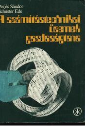 A számítástechnikai üzemek gazdaságtana - Régikönyvek