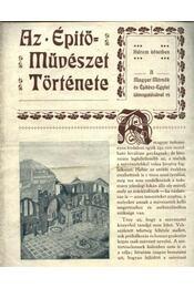 Az építőművészet története - Régikönyvek