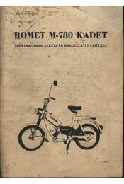 Romet M-780 Kadet - Régikönyvek