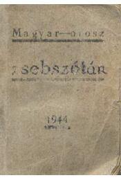 Magyar-orosz zsebszótár - Régikönyvek