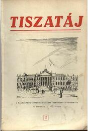 Tiszatáj 1955. április IX. évfolyam 2. - Régikönyvek