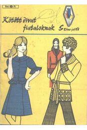 Kötött divat fiataloknak - Régikönyvek