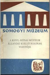 A Rippl-Rónai múzeum állandó kiállításának vezetője - Régikönyvek