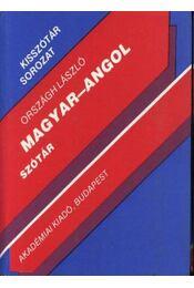 Magyar-angol szótár - Régikönyvek