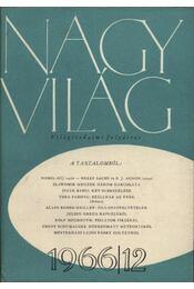 Nagyvilág 1966. évfolyam I-XII. szám (teljes) I-II. kötet - Régikönyvek