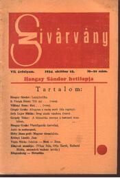Szivárvány - VII. évfolyam, 19-20. szám - Régikönyvek